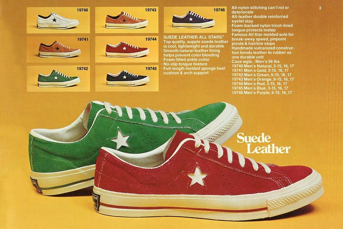 History Of Converse One Star Advertisement 5