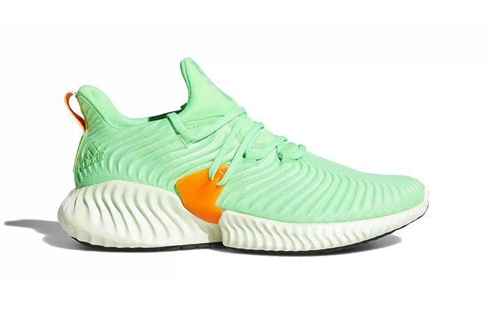 Adidas Alphabounce Instinct Grey Shock Lime Release Date 001 Sneaker Freaker