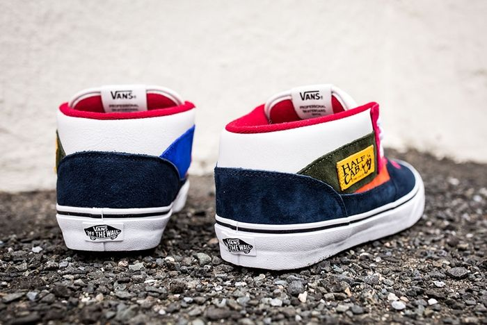 Vans Year Of The Monkey Half Cab Multi Suede Leather 5
