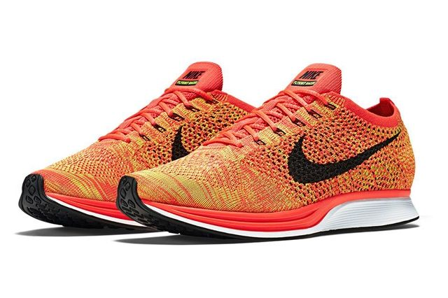 Nike Flyknit Racer Orange Slice 1