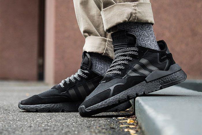 Adidas Nite Jogger Triple Black