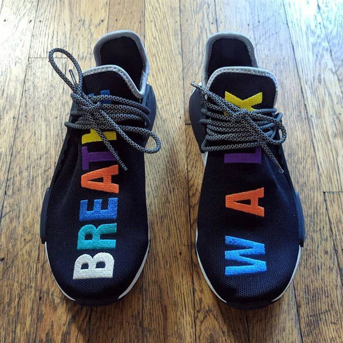Pharrell Williams X Adidas Hu Nmd Tr1 Rainbow 2