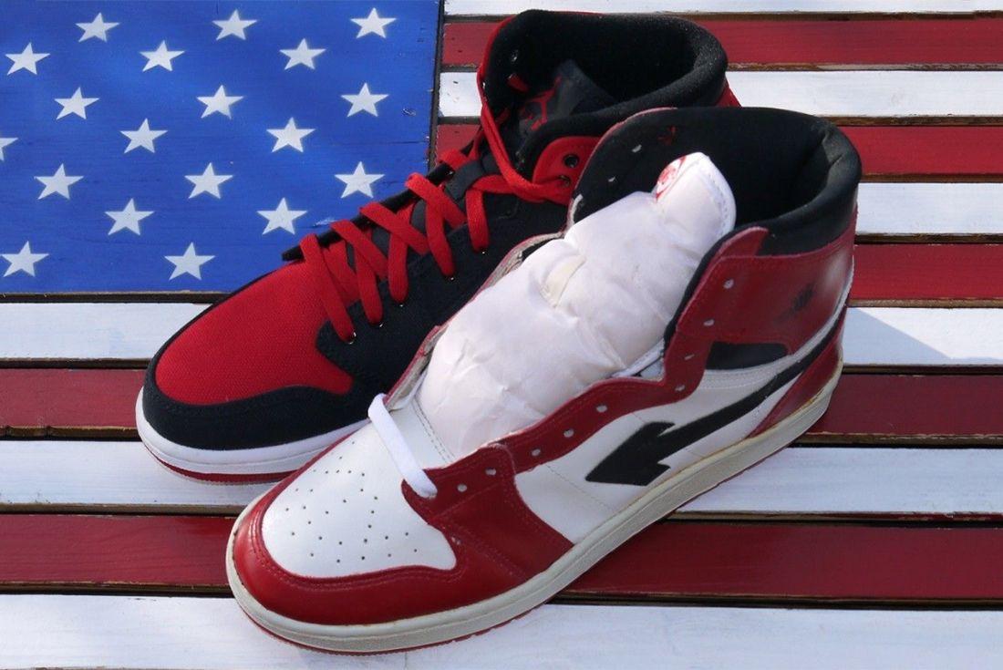 Air Jordan 1 Sang Knock Off 7