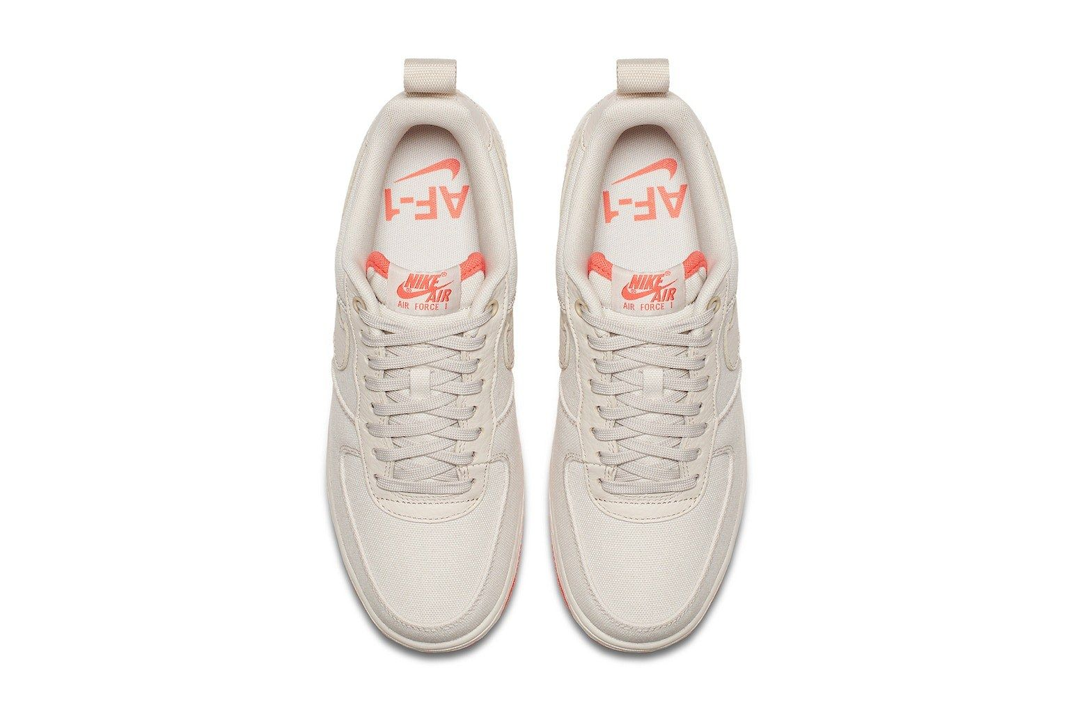 Nike Air Force 1 Low Canvas Desert Sand Release 4