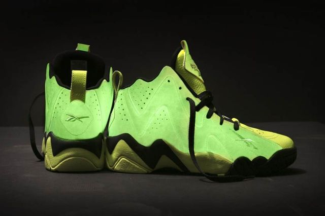Reebok Kamikaze 2 Acid Rain Glowing