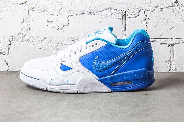 Nike Air Flight 13 Game Royal Vivid Blue 1