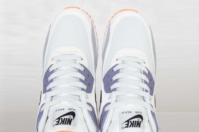 Nike Air Max 90 Essential Iron Purple Atomic Orange 1