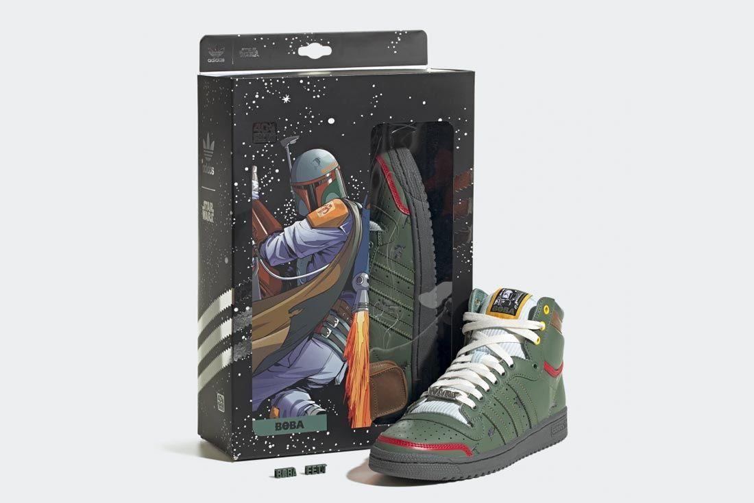 Star Wars x adidas Top Ten Hi (Boba Fett)