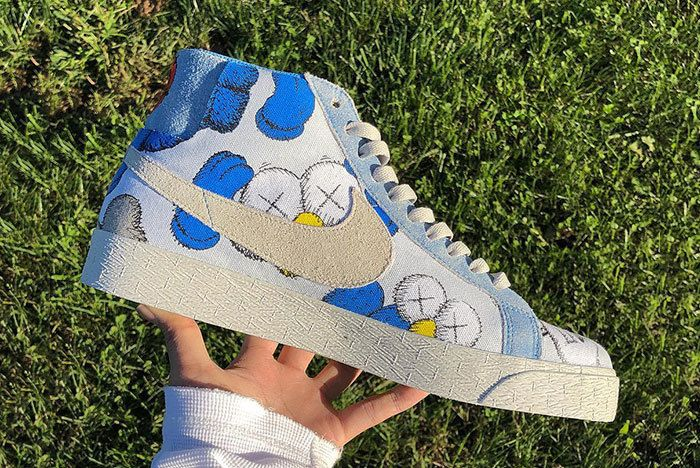 Kaws X Nike Blazer Sneaker Freaker