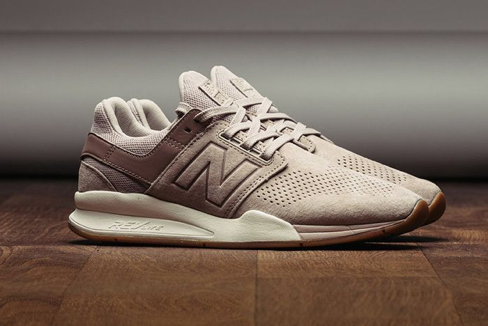 New Balance 247 Luxe Leather Marron 1