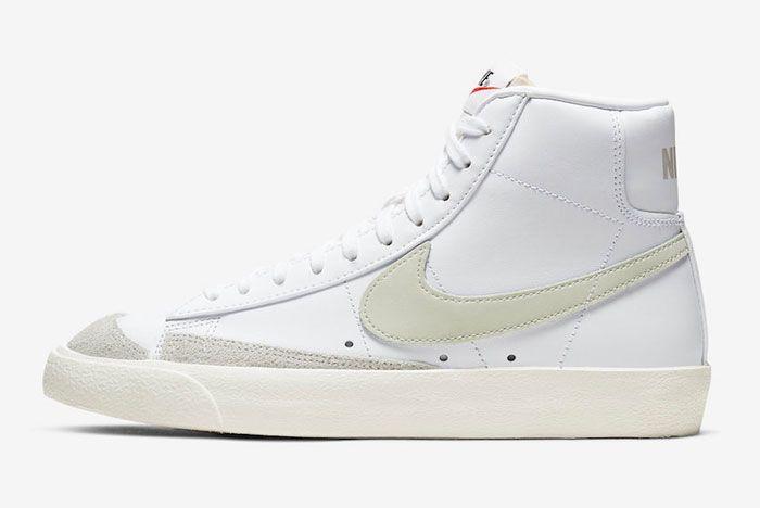 Nike Blazer Mid Light Bone Left