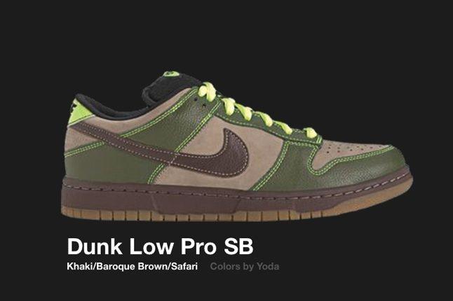 Nike Dunk Low Sb Yoda 1