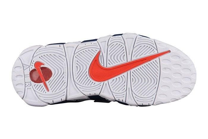 Nike Air More Uptempo White Blue Knicks 2