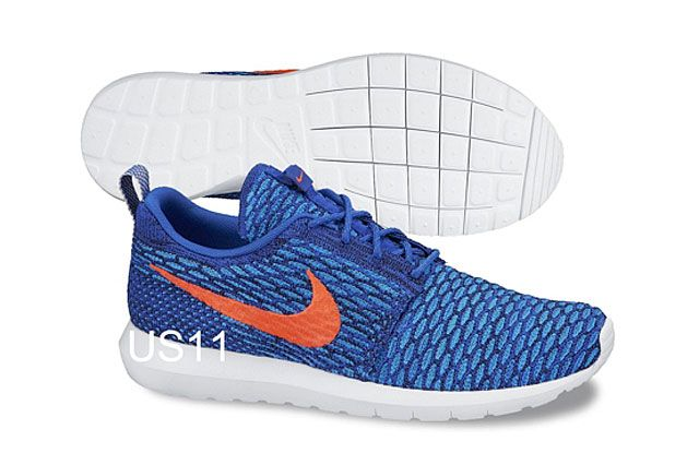 Nike Flyknit Rosherun Nm Blu Org