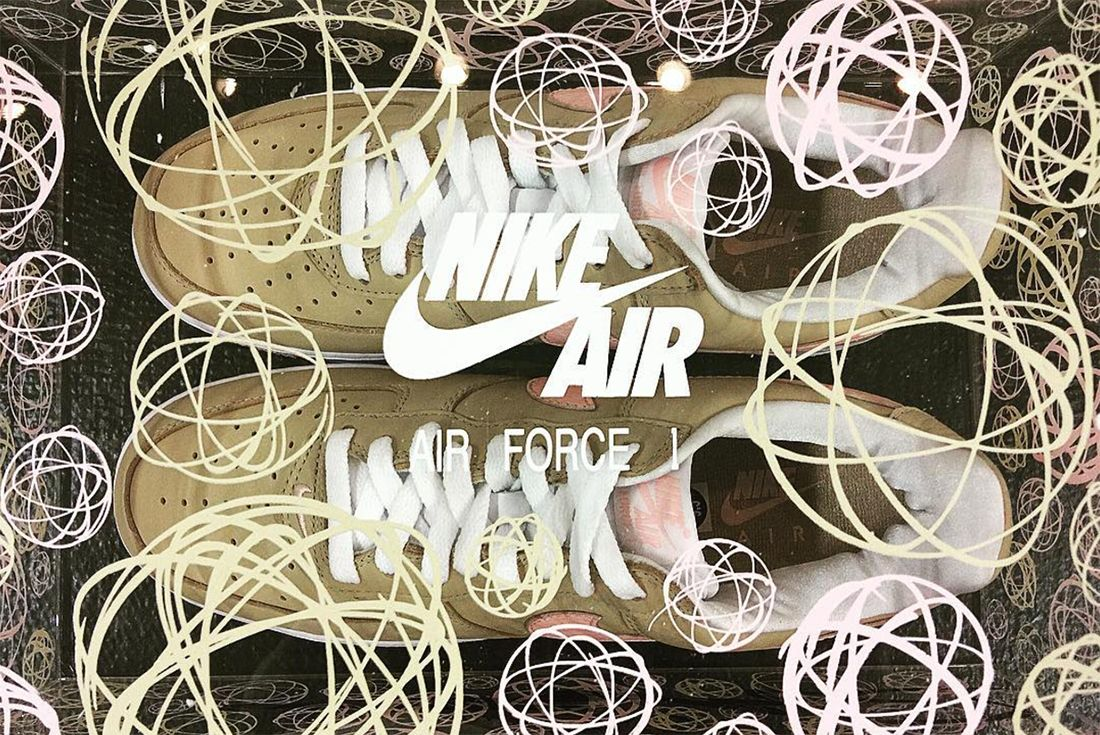 Nike Air Force 1 Linen To Return As Kith Exclusive In Colab With Futura5
