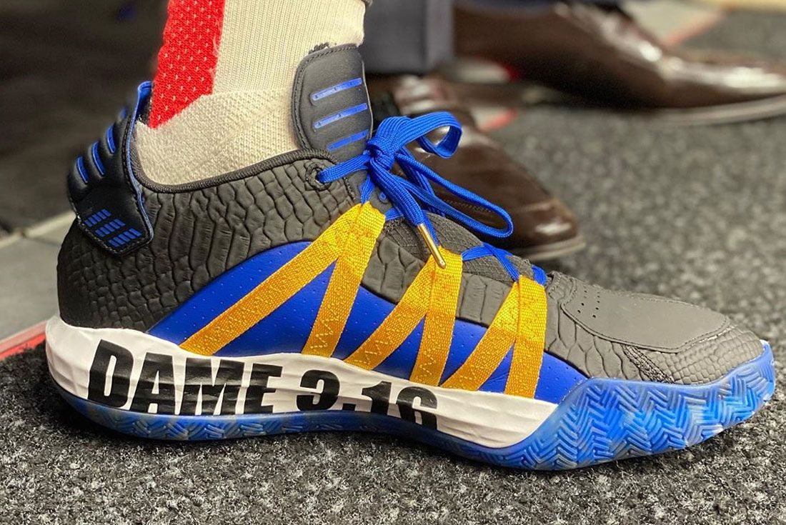 Adidas Dame 6 316 Right