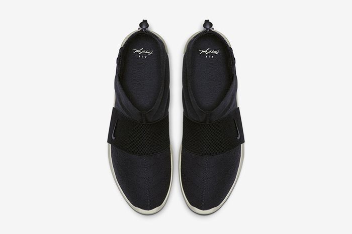 Nike Air Fear Of God Moc Black Fossil At8086 002 Release Date Top Down