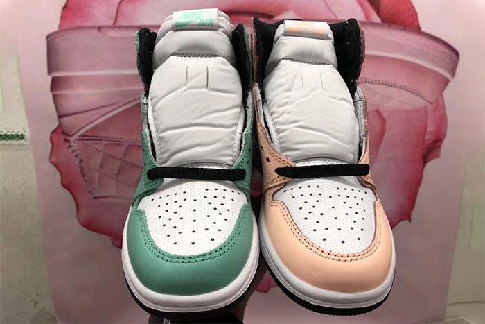 Air Jordan 1 High Og Mismatch Perforated Pair Toe