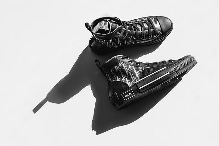 Dior B23 All Black Side Shot 3