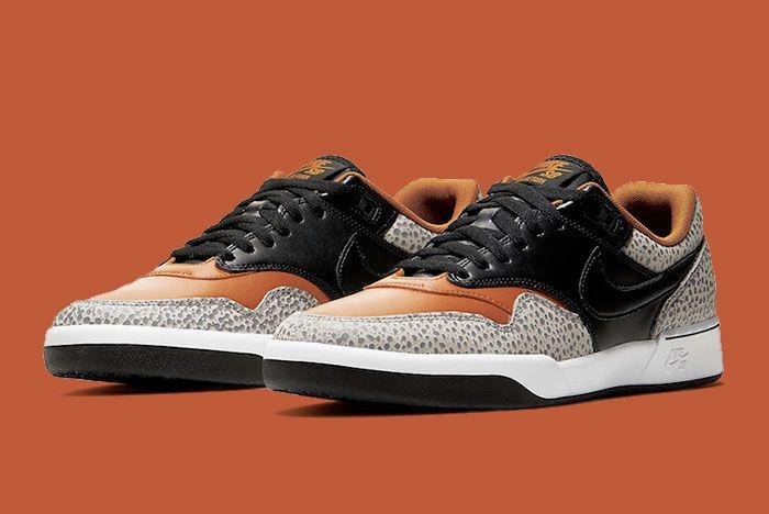 Nike Sb Gts Return Premium Safari Cv6283 001 Front Angle