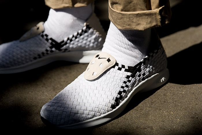 Nike Air Woven White Black 1