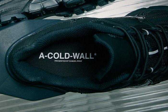 A Cold Wall Nike Zoom Vomero 5 Sail Black 9