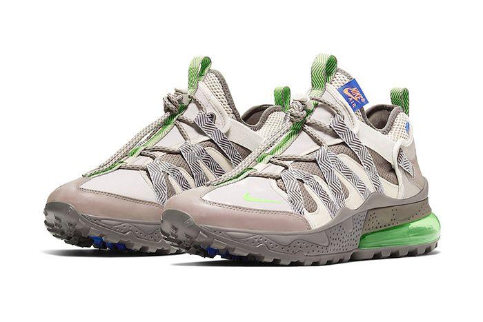 Nike Air Max 270 Bowfin Desert Sand Electric Green Aj7200 007 Release Date Pair