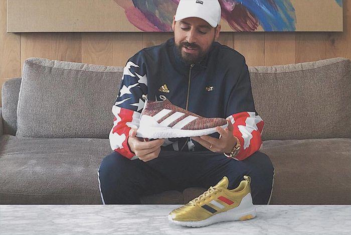 Kith Adidas Soccer Usa 1