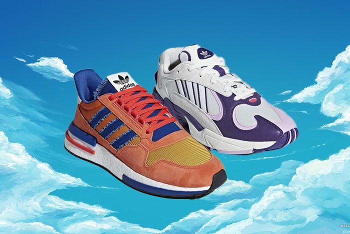 Goku Frieza Adidas Sneaker Freaker