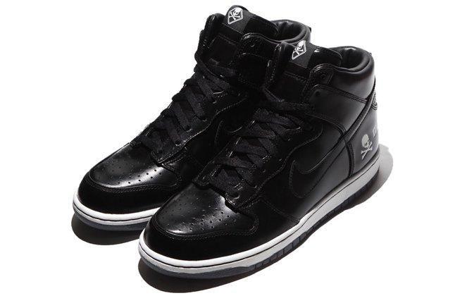 Mastermind Japan Nike Dunk Hi Black Pair 1