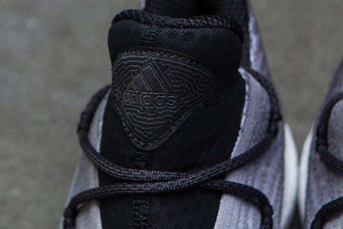 Adidas Crazy Explosive Low Primeknit Grey Black White Fade 3