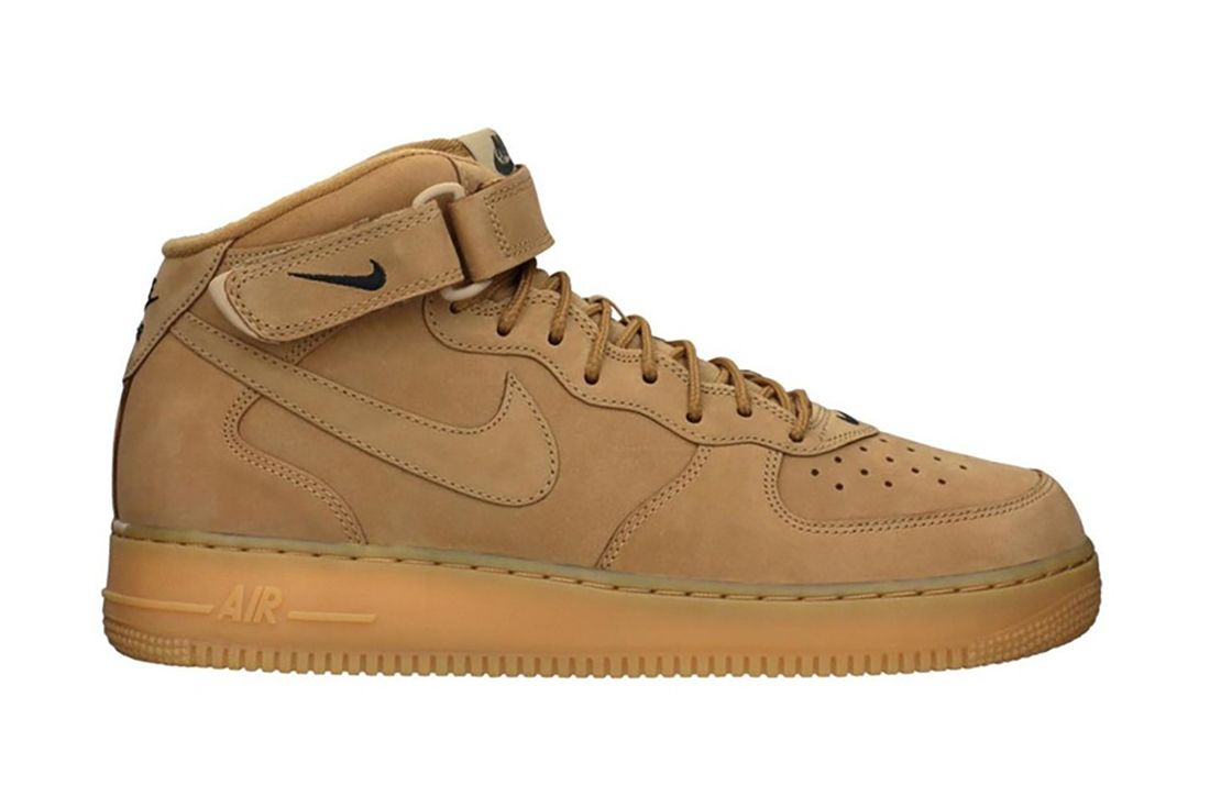 Wheat Flax Mid Nike Air Force 1 Best Feature