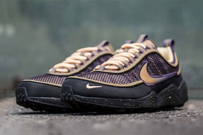 Nike Zoom Spiridon Anthracite Elemental Gold Sneaker Freaker 2