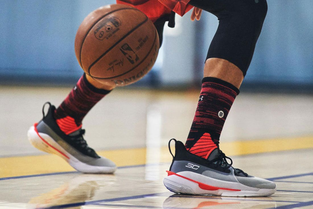 Stephen Curry Curry 7 On Foot