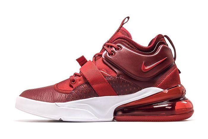 Nike Air Force 270 Red Croc Ah6772 600 4 Sneaker Freaker