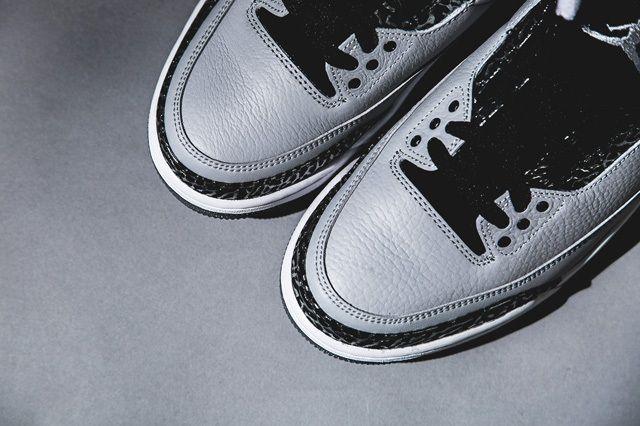 Air Jordan 3 Wolf Grey Bump 3