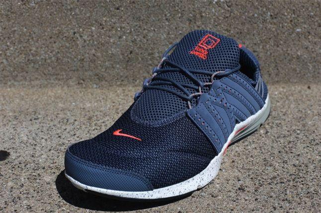 Nike Lunar Presto Armryslate Atomicred Front Quarter 1