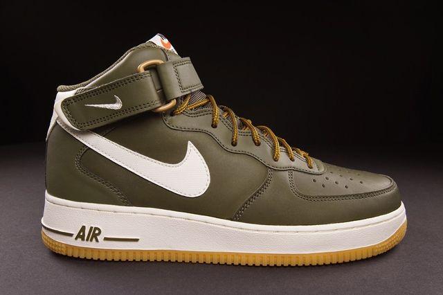 Nike Air Force 1 Mid Medium Olive Bump 2