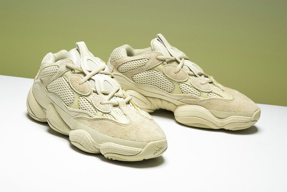 Adidas Yeezy 500 Super Moon Yellow Sneaker Freaker 1