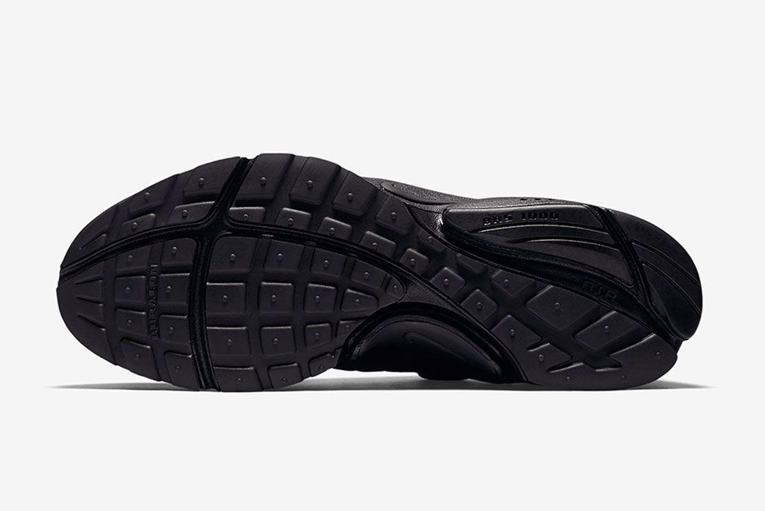 Nike Air Presto Woven Tripe Black 8
