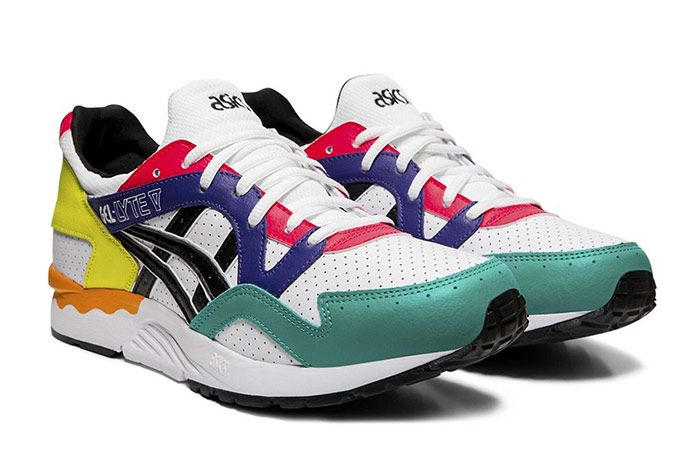 Asics Gel Lyte V Multi Color Leather Front
