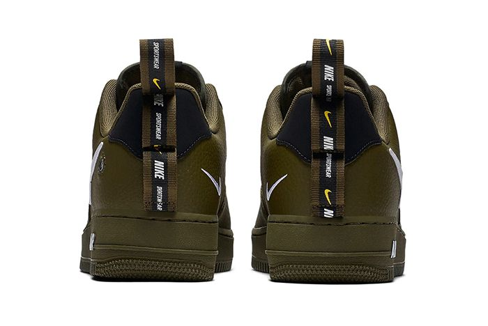 Nike Air Force 1 Low Utility Olive Canvas 3