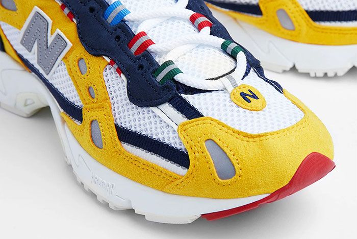 Aime Leon Dore New Balance 827 Yellow 1 Official