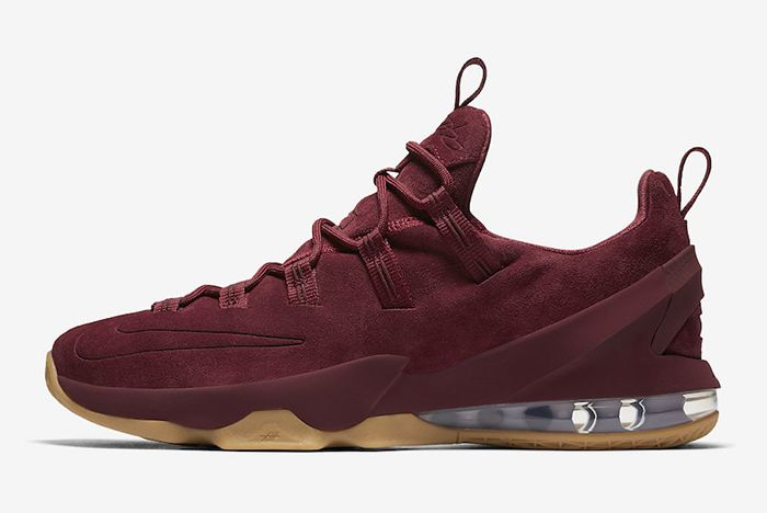 Nike Le Bron 13 Low Team Red2