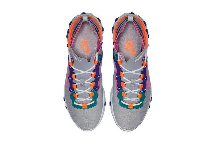 Nike React Element 55 Wolf Grey Top