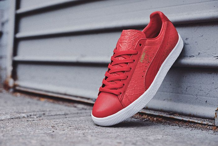 Puma Clyde Dressed Pack Red 1