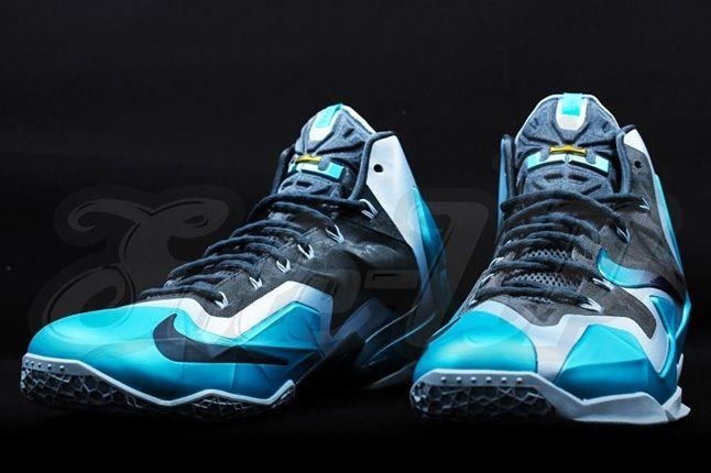 Nike Lebron 11 Gamma Blue 5