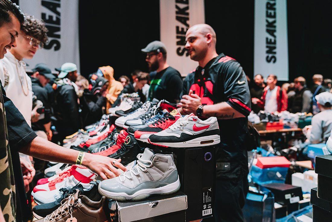 Sneakerness Even Recap Air Max Stand