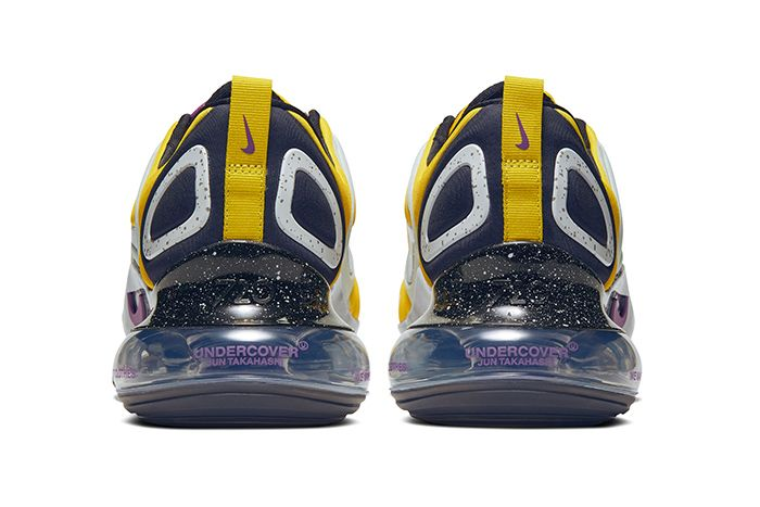 Undercover Nike Air Max 720 Yellow Release Date Heel