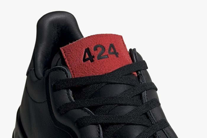 Fourtwofour Adidas Black Tongue